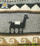 handmade handbag alpaca sheep ANDEAN harvest - Product id: HANDBAGS09-04 Photo04