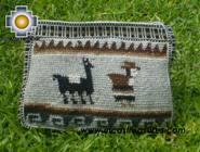 handmade handbag alpaca sheep ANDEAN LLAMA - Product id: HANDBAGS09-03 Photo02