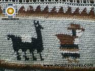 handmade handbag alpaca sheep ANDEAN LLAMA - Product id: HANDBAGS09-03 Photo03