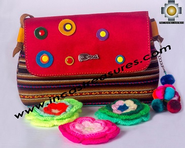 Handmade Purse Warmi Flower