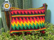 Handmade Rasta Handbag - Thunder - Product id: HANDBAGS09-06 Photo02