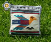 Handmade sheep wool square handbag freebird - Product id: HANDBAGS09-12 Photo02