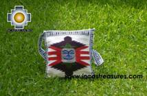 Handmade sheep wool square handbag mighty sun - Product id: HANDBAGS09-10 Photo01