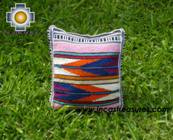 Handmade sheep wool square handbag stripes - Product id: HANDBAGS09-16 Photo01