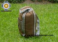 medium alpaca travel backpack BROWN - Product id: HANDBAGS09-41 Photo04