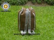 medium alpaca travel backpack BROWN - Product id: HANDBAGS09-41 Photo05