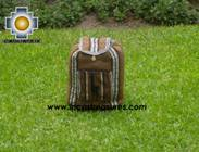 medium alpaca travel backpack BROWN - Product id: HANDBAGS09-41 Photo01