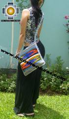 big Handmade sheep wool square handbag mystic - Product id: HANDBAGS09-31 Photo01