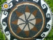 Round Handbag sheep wool circle of life - Product id: HANDBAGS09-36 Photo02