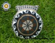 Round Handbag sheep wool circle of life - Product id: HANDBAGS09-36 Photo01