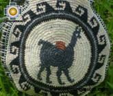 Round Handbag sheep wool day ALPACA - Product id: HANDBAGS09-33 Photo03