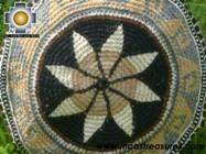 Round Handbag sheep wool night star - Product id: HANDBAGS09-35 Photo03