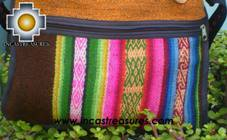 Sheep wool handbag from Cuzco apu-rainbow - Product id: HANDBAGS09-54 Photo03
