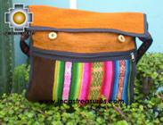 Sheep wool handbag from Cuzco apu-rainbow - Product id: HANDBAGS09-54 Photo04