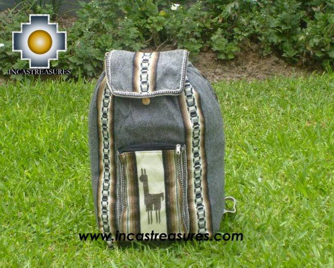 big alpaca travel backpack DARK GREY