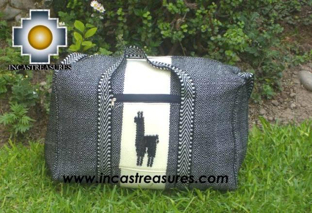 Big Alpaca Travel bag TAMBO silver - Product id: HANDBAGS09-56