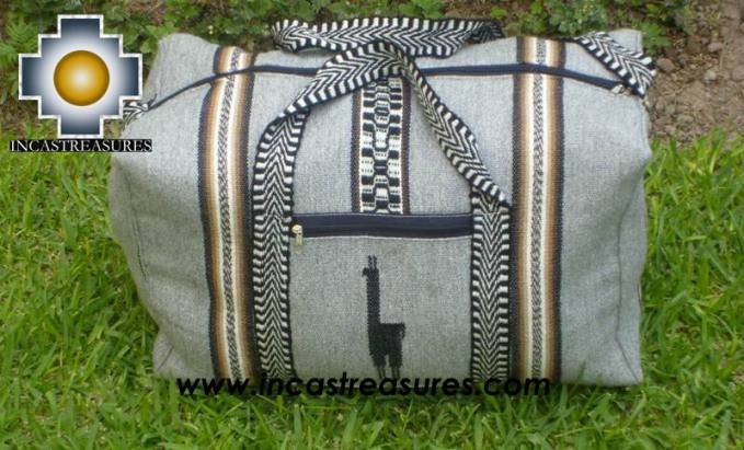 Big Alpaca Travel bag TAMBO silver