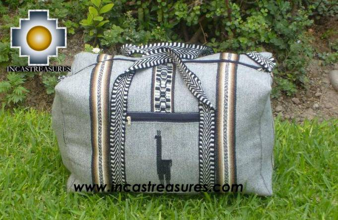Big Alpaca Travel bag TAMBO silver - Product id: HANDBAGS09-55