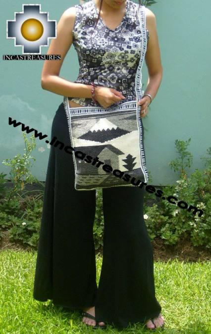 big Handmade sheep wool square handbag AUTUMN