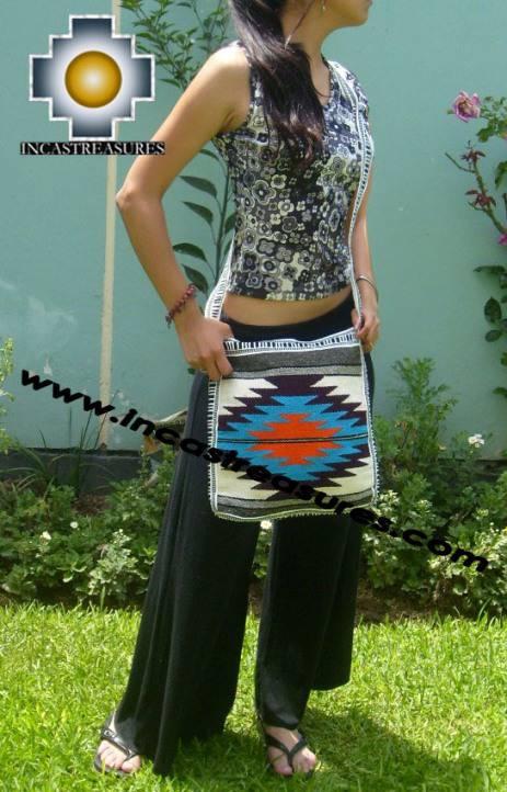 big Handmade sheep wool square handbag deep-light - Product id: HANDBAGS09-25