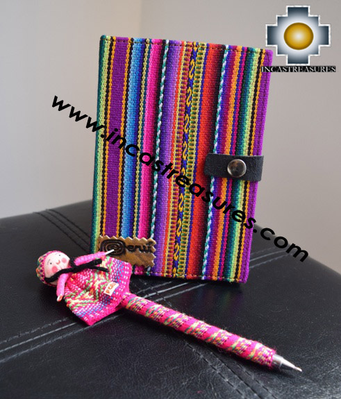 Handmade Andean Agenda Inti, PEN INCLUDED!