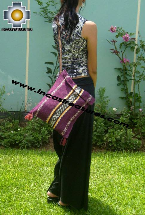 handmade handbag of bolivian blanket CHICHA
