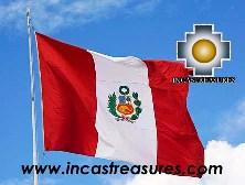 Peru Flag Big, sewn Nylon Peruvian Banner - Product id: home-decor13-02 Photo01