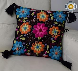 100% Alpaca Cushion Colibri Black - Product id: Alpaca-cushion16-01black Photo04