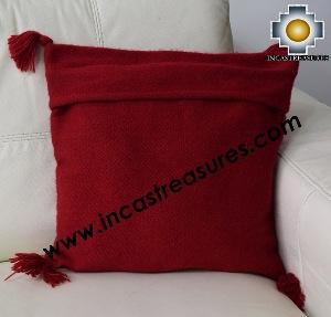 100% Alpaca Cushion Colibri red - Product id: Alpaca-cushion16-01red Photo03