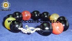 Jewelry 950 Silver bracelet agata - Product id: Silver-Jewelry10-02 Photo08