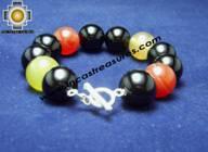 Jewelry 950 Silver bracelet agata - Product id: Silver-Jewelry10-02 Photo04