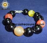 Jewelry 950 Silver bracelet agata - Product id: Silver-Jewelry10-02 Photo01