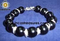 Silver jewelry Bracelet ONIX
