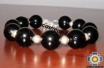 Jewelry 950 Silver bracelet Onix Modern - Product id: silver-Jewelry10-17