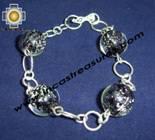 Jewelry 950 Silver bracelet saturn - Product id: silver-Jewelry10-08 Photo08