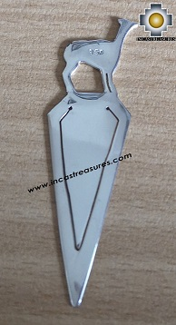 Jewelry 950 Silver Book pendant Alpaca - Kit of 10