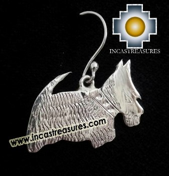 Jewelry Silver Earring Scottish Terrier Jock - Product id: Silver-Jewelry14-01 Photo03