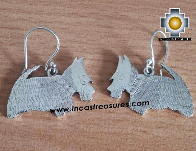 Jewelry Silver Earring Scottish Terrier Jock - Product id: Silver-Jewelry14-01 Photo01