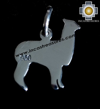 Jewelry 950 Silver Pendant Mini Alpaca - Kit of 10