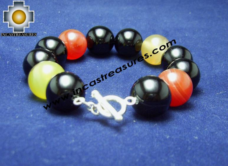 Jewelry 950 Silver Bracelet AGATA - Product id: Silver-Jewelry10-02