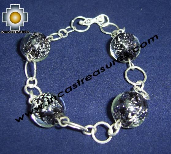 Jewelry 950 Silver Bracelet saturn - Product id: silver-Jewelry10-08