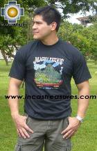 100% Pima Cotton Tshirt Machu Picchu - Product id: cotton-tshirt09-07 Photo03
