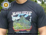 100% Pima Cotton Tshirt Machu Picchu - Product id: cotton-tshirt09-07 Photo02