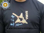 100% Pima Cotton Tshirt Nazca Black - Product id: cotton-tshirt09-09 Photo02