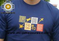 100% Pima Cotton Tshirt Nazca Blue - Product id: cotton-tshirt09-10 Photo02