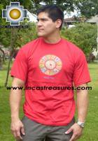 100% Pima Cotton Tshirt Nazca Red - Product id: cotton-tshirt09-13 Photo03