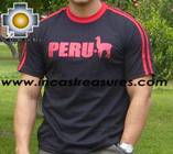 100% Pima Cotton Tshirt Peru Black - Product id: cotton-tshirt09-15 Photo01