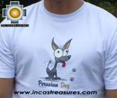 100% Pima Cotton Tshirt Peruvian Dog - Product id: cotton-tshirt09-24 Photo02