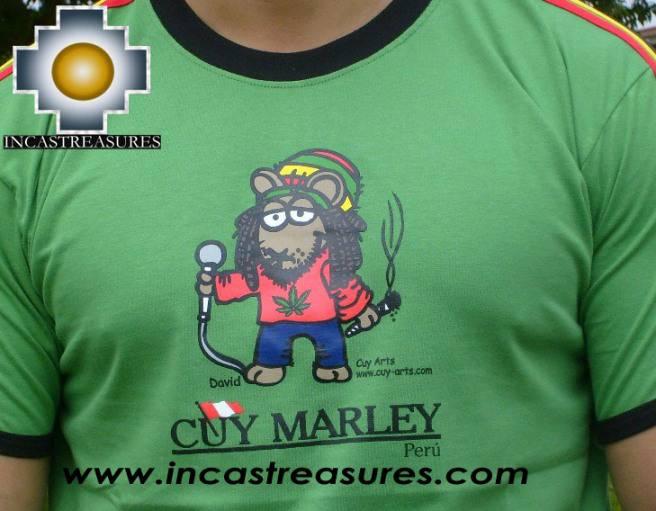 Cotton Tshirt Cuy Marley