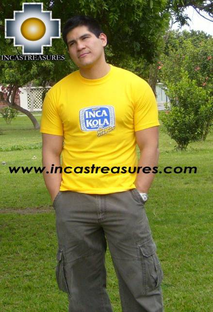 Cotton Tshirt Inca Kola